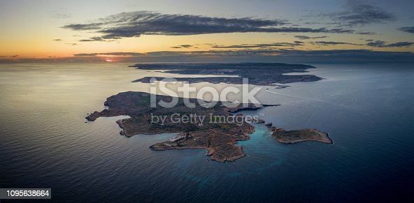 istock Aerial view of Gozo 1095638664