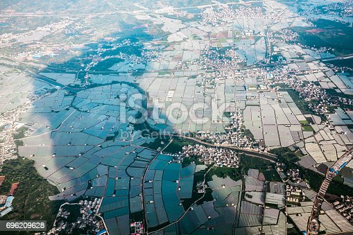 istock Aerial view of grounds 696209628