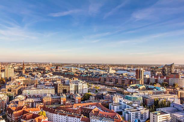 Luftbild von Hamburg – Foto