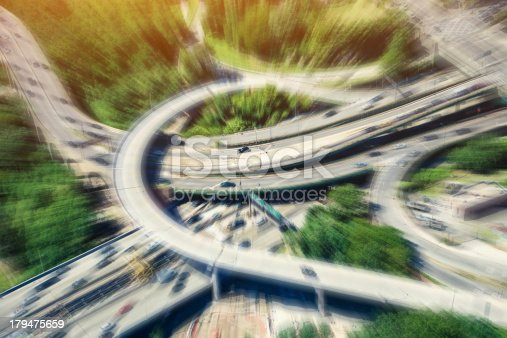 618059920istockphoto Aerial View of Highways aroung New York City 179475659