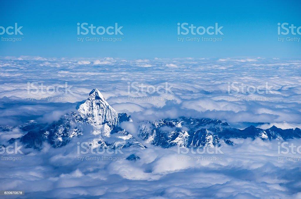 Aerial view of Himalaya – Foto