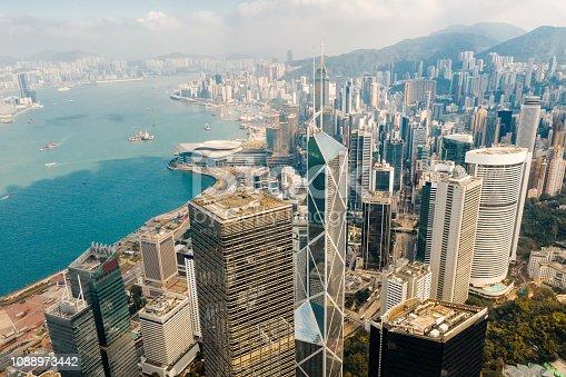 Hong Kong, Central District - Hong Kong, China - East Asia, City, Cityscape