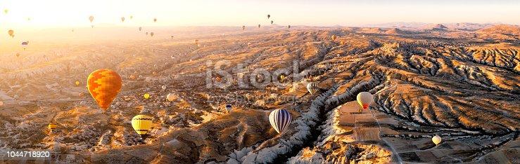 Hot Air Balloon, Cappadocia, Göreme, Anatolia, National Landmark, Nevsehir