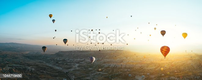 Hot Air Balloon, Cappadocia, Göreme, Anatolia, National Landmark, Nevsehir