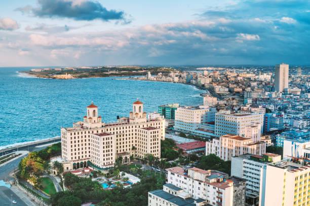Luftaufnahme des Hotel Nacional de Cuba – Foto