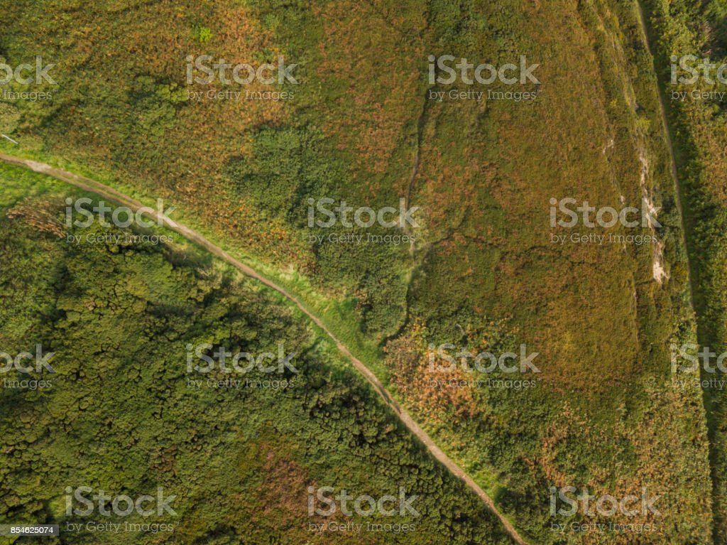 Aerial view of Howth Hill and cliffs, Howth Head, Dublin, Ireland. royalty-free stock photo