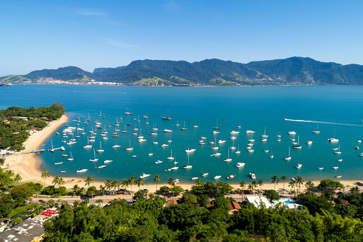istock Aerial view of Ilhabela in Sao Paulo, Brazil 697433778