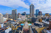 istock Aerial view of Indianapolis downtown Indiana 1202952168