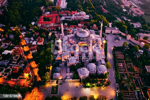 1174016297istockphoto Aerial view of Istanbul at sunrise, Turkey 1061676906