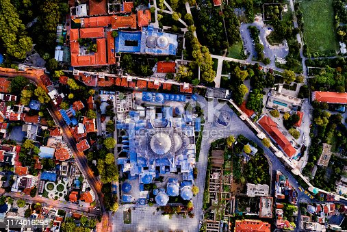 1174016297istockphoto Aerial view of Istanbul at sunrise, Turkey. 1174016298