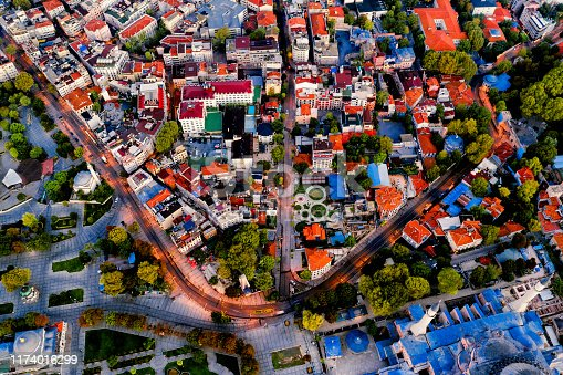 1174016297istockphoto Aerial view of Istanbul at sunrise, Turkey. 1174016299