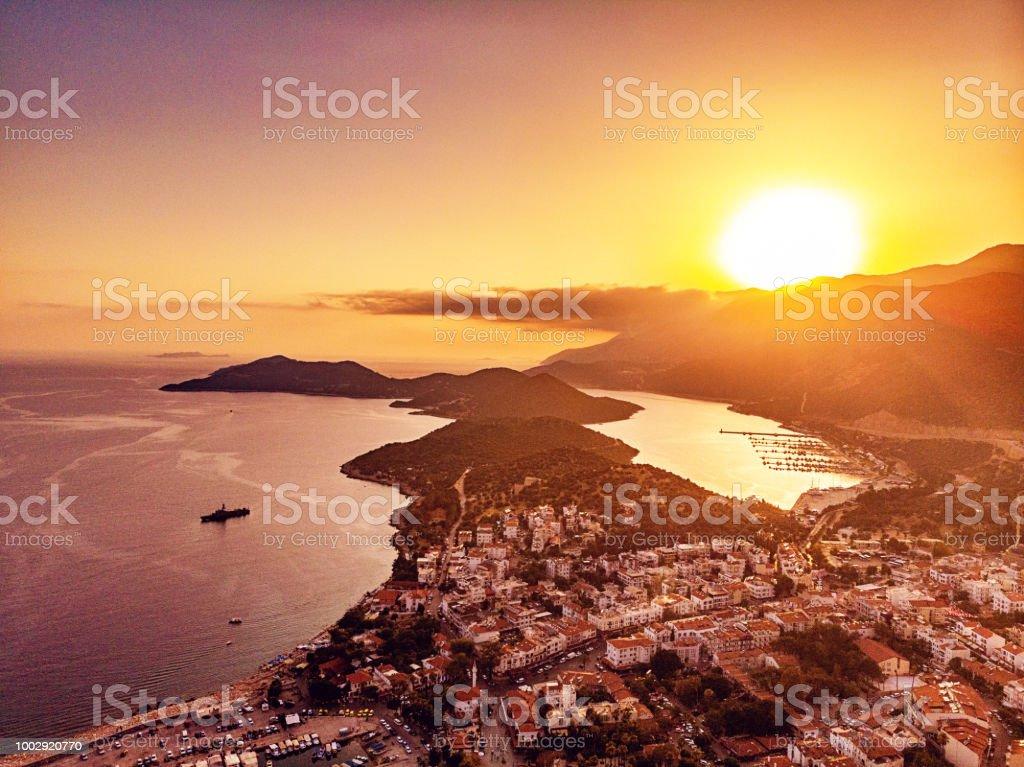 Luftaufnahme von Kaş, Antalya – Foto