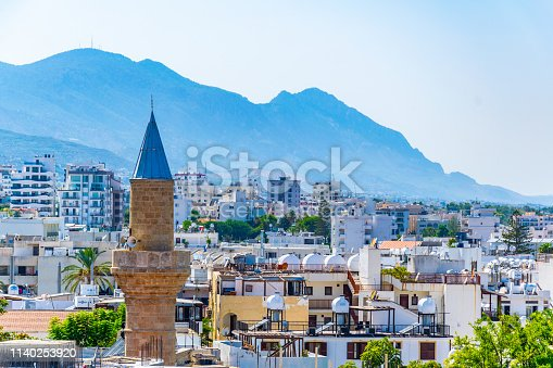 istock Aerial view of Kyrenia 1140253920
