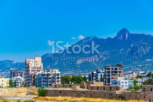 istock Aerial view of Kyrenia 1140253963