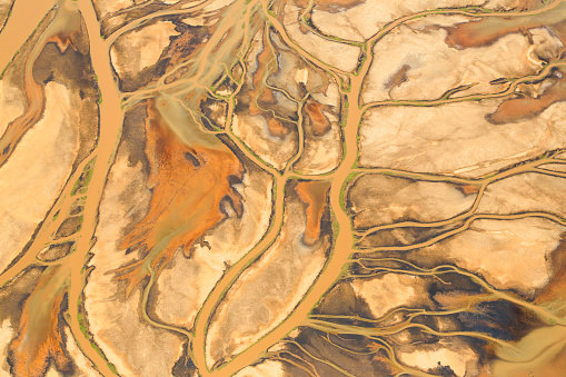 istock Aerial view of Lake Natron in the Great Rift Valley, on the border between Kenya and Tanzania 853130120
