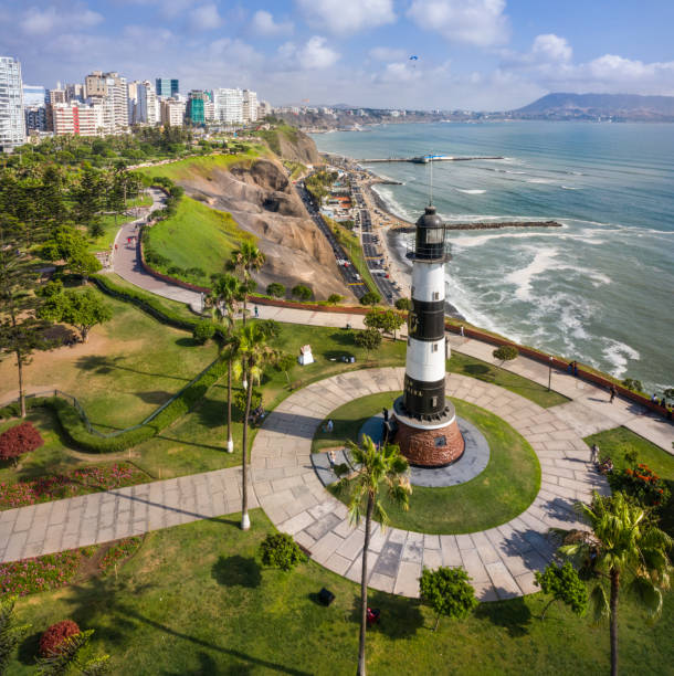 Aerial view of lighthouse of miraflores in lima peru picture id1091870010?b=1&k=6&m=1091870010&s=612x612&w=0&h=dwg0n ldi67adkwog1cdpbesrukfcxzsg13jej28pto=