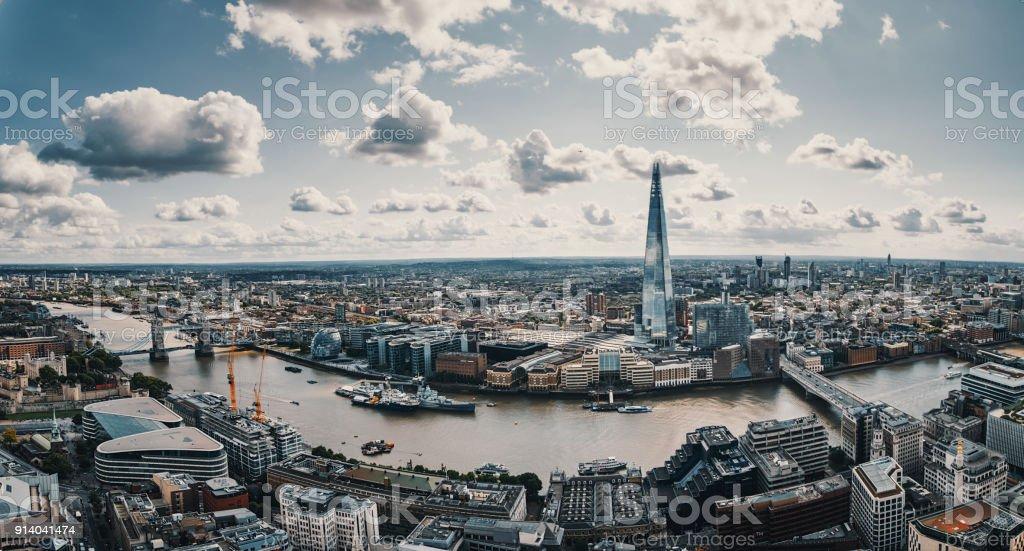 Luftbild von London – Foto