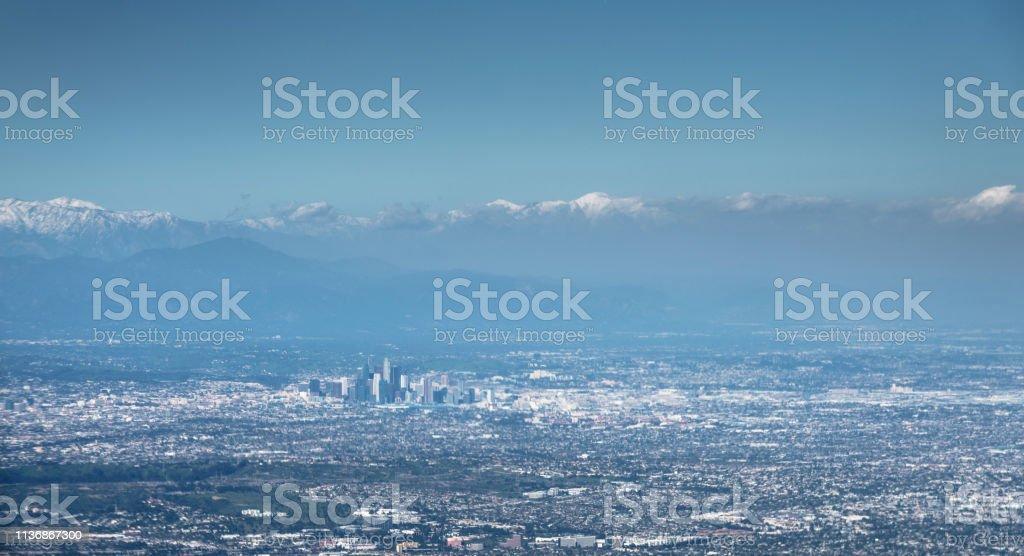 Luftaufnahme los angeles – Foto