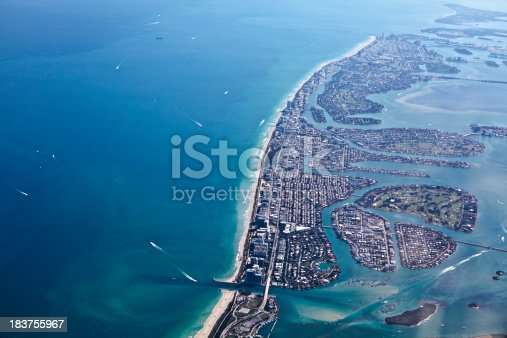 1130689824 istock photo Aerial view of Maimi Florida 183755967