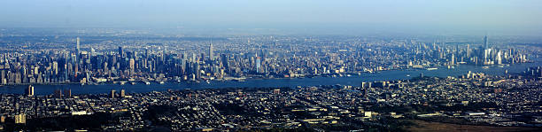 Aerial View of Manhattan from New Jersey