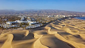 Flight over of Maspalomas resort, Gran Canaria