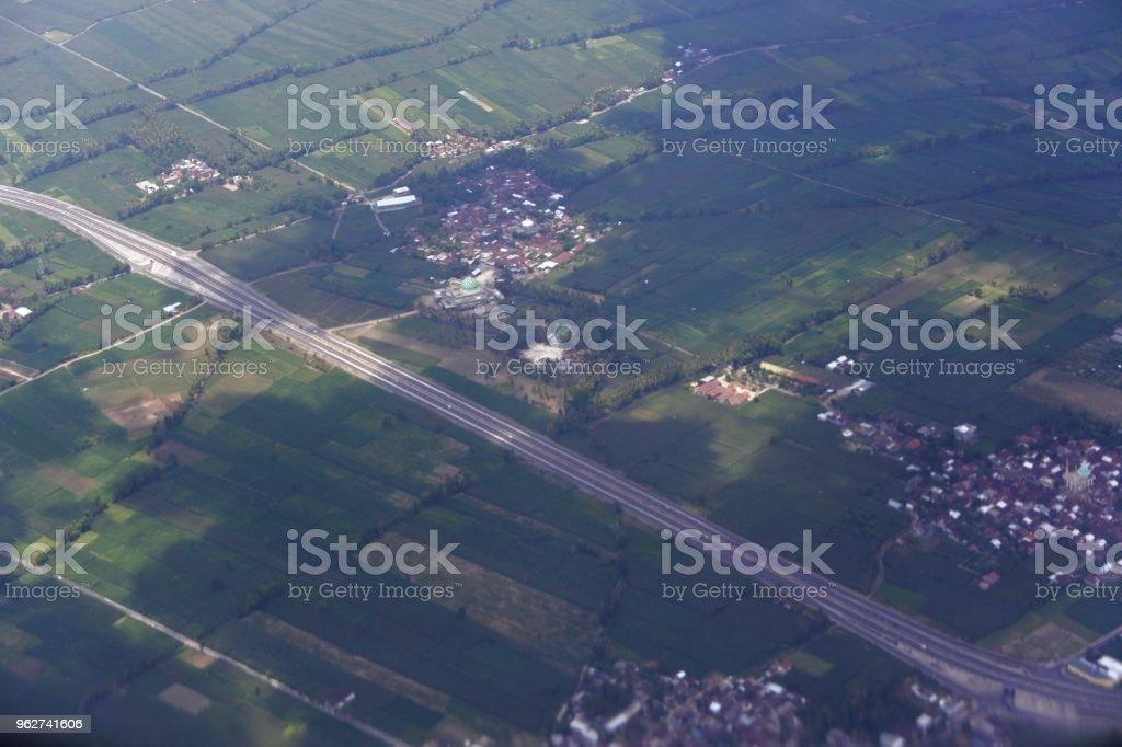 Vista aérea de mataram - Foto de stock de Agricultura royalty-free