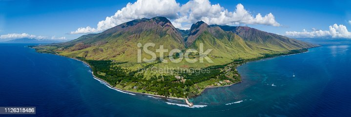 From west Maui by drone