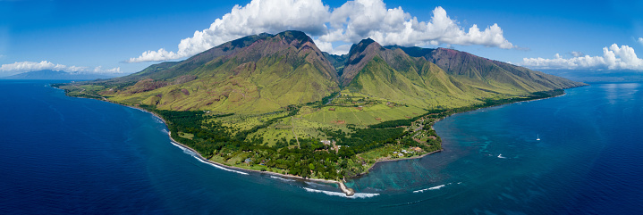 istock Aerial view of maui 1126318486