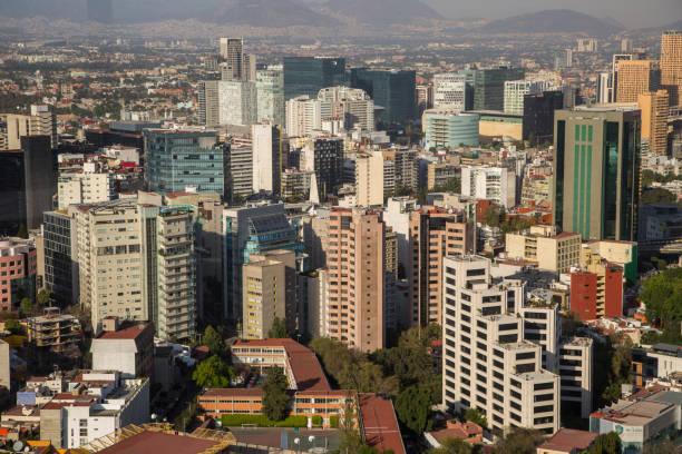 Luchtfoto van Mexico-Stad foto