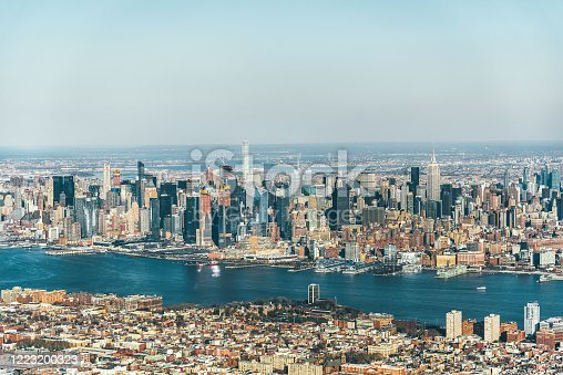 947373704 istock photo Aerial View of Midtown Manhattan / NYC 1223200323