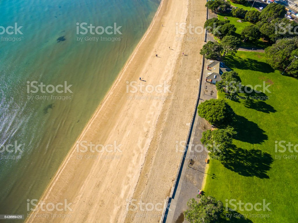 Aerial View of Mission Bay stock photo
