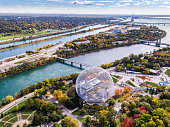 istock Aerial View of Montreal in Autumn Season, Quebec, Canada 1092318414