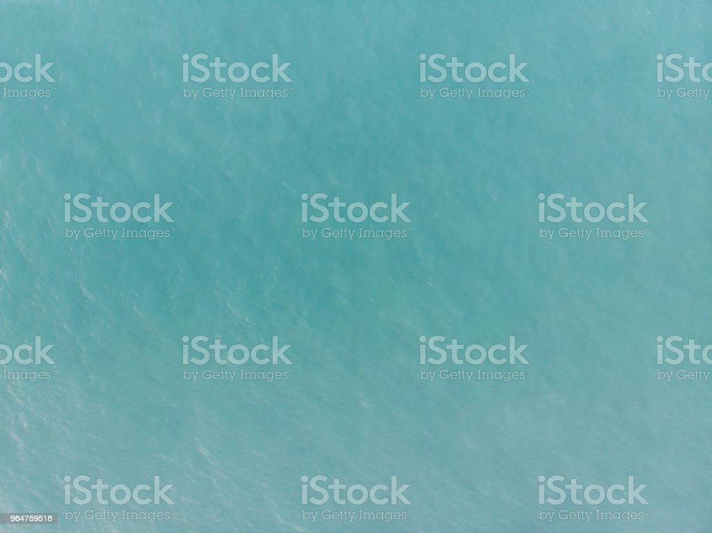 aerial view of ocean surface royalty-free stock photo
