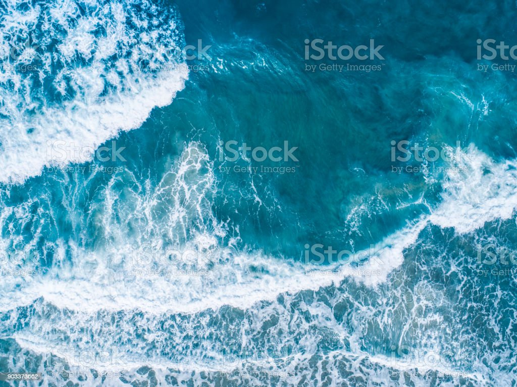 Luftaufnahme der Meereswellen – Foto