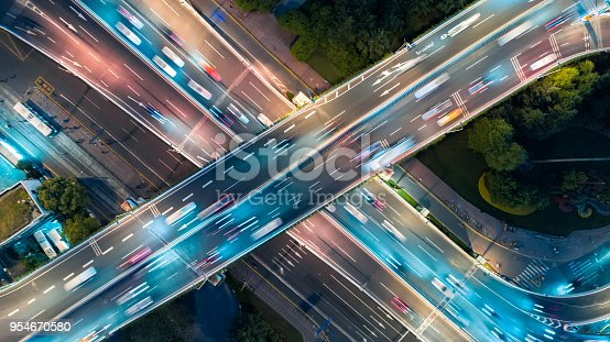 City, Road, Highway, Mode of Transport, Cityscape