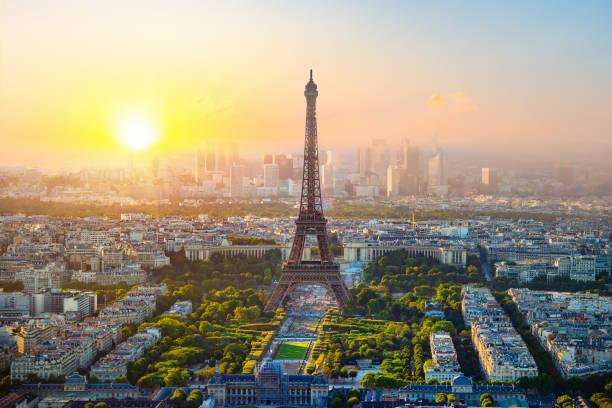 Luftaufnahme von Paris – Foto