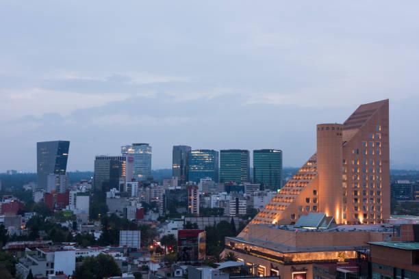 Luftaufnahme der Stadtteil Polanco in Mexiko-Stadt – Foto