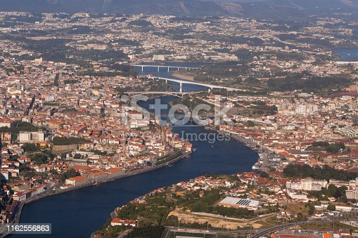 Aerial View of Porto, Portugal
