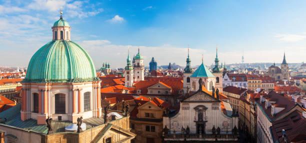 Luftaufnahme von Prag, Tschechien – Foto