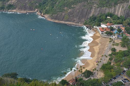 Aerial view of Praia Vermelha
