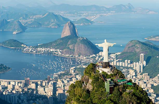 Luftbild von Rio de Janeiro entfernt – Foto
