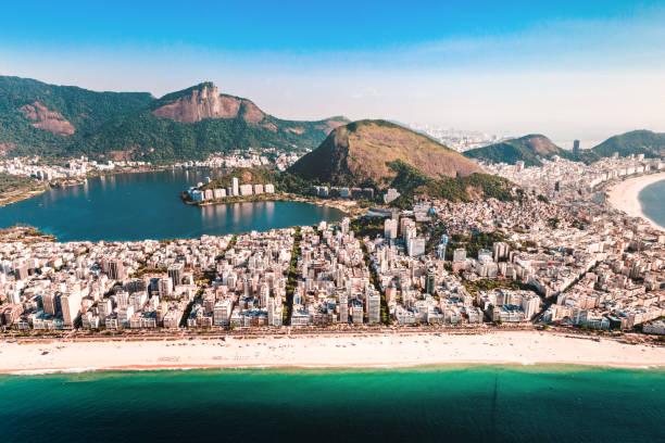 Aerial view of Rio de Janeiro Aerial view of Rio de Janeiro lagoa rio de janeiro stock pictures, royalty-free photos & images