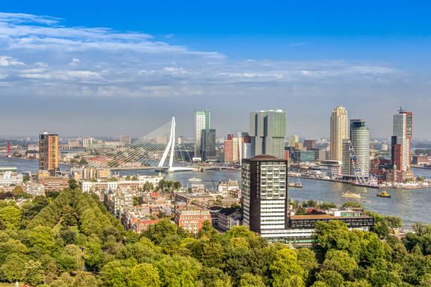 Luftbild von Rotterdam – Foto