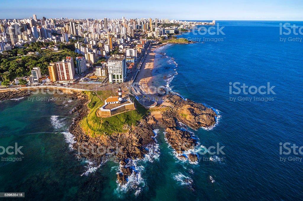 Aerial View Of Salvador Da Bahia Cityscape Bahia Brazil