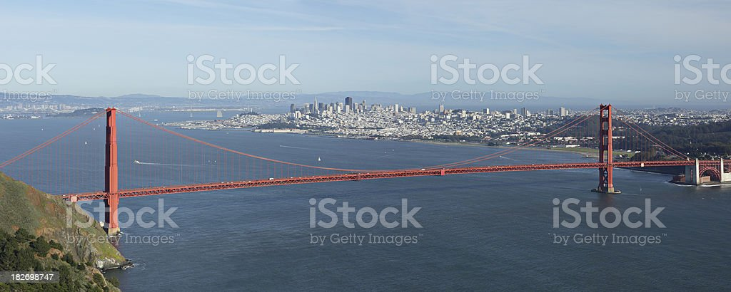 Aerial View of San Francisco royalty-free stock photo
