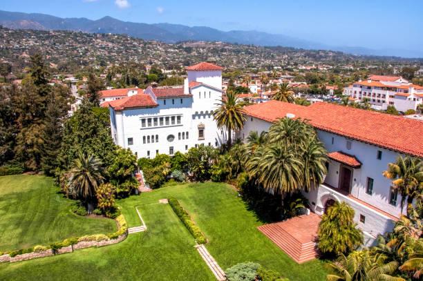 Luftaufnahme von Santa Barbara, Kalifornien, USA – Foto