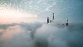 Aerial View Of Shanghai