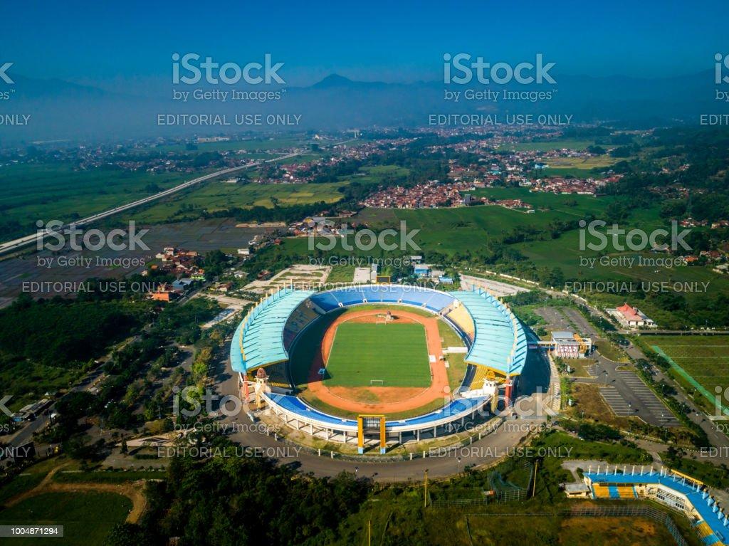 Soreang Bandung West Java Indonesia June 28 2018 Aerial View