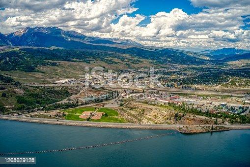 Aerial View of Silverthorne, Colorado