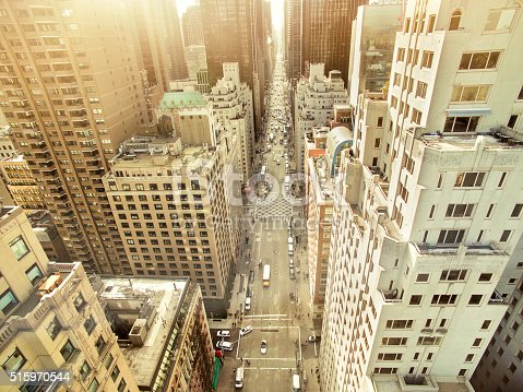 507831914 istock photo Aerial view of sixth avenue 515970544
